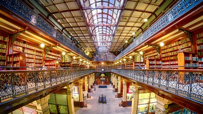 South Australia State Library, Mortlock Wing, Adelaide - image