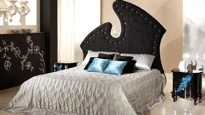 bedroom, room, bed, style, interior, design - image
