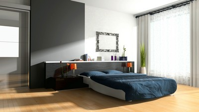 room, interior, bedroom, bed, design