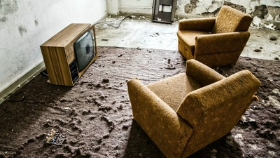 interior, sala, sillones, tv