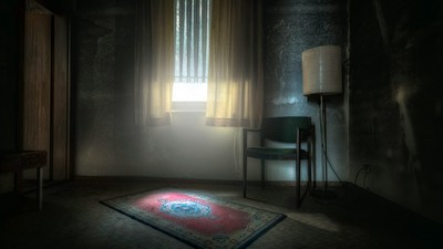 window, lamp, room - image