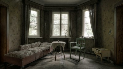 room, window, furniture - image