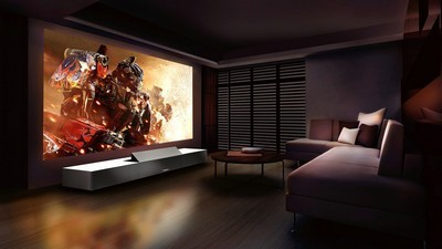 interior, sony LSPX, transformers, movie, room, projector