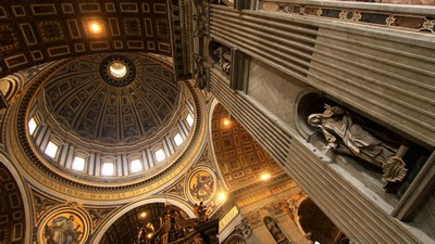 St. Peter's Basilica, Italy, Rome, Vatican - image, pic