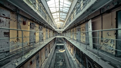 interior, horrors of the past, beautiful, cameras, prison, decor, nice - image